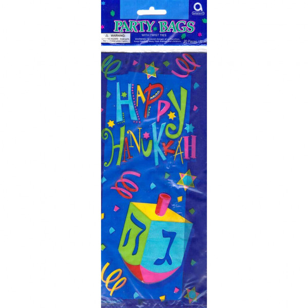 Happy Hanukah Party Bags