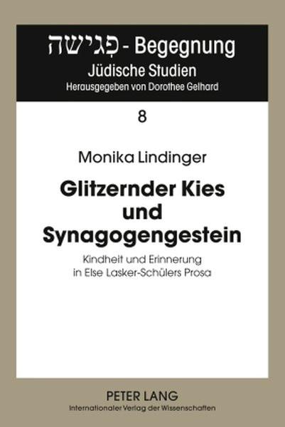 Glitzernder Kies und Synagogengestein