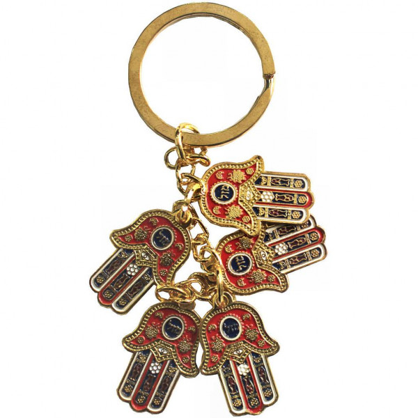 Schlüsselanhänger *Mini-Chamsas* Metall 7cm