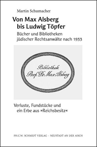 Von Max Alsberg bis Ludwig Töpfer