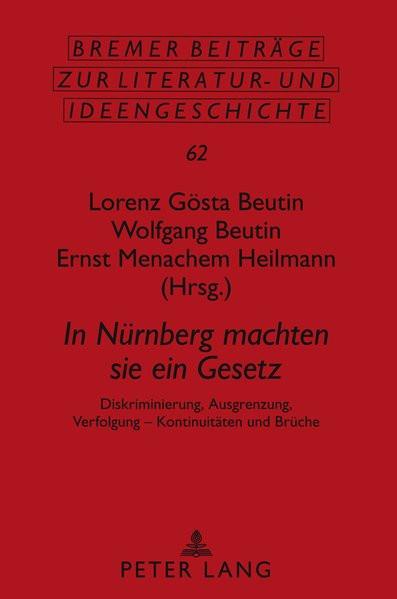 In Nürnberg machten sie ein Gesetz