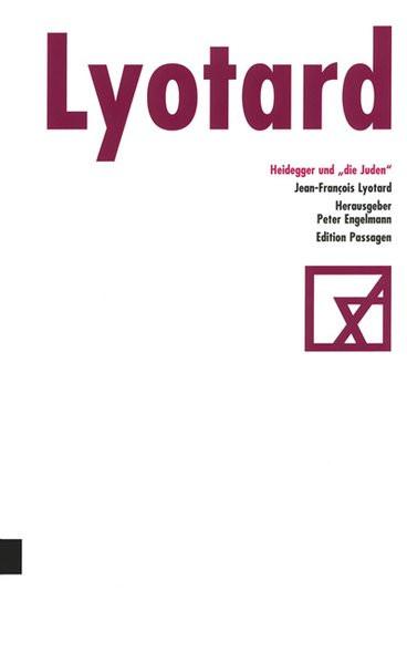 """Heidegger und """"die Juden"""""""