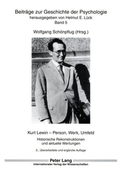 Kurt Lewin - Person, Werk, Umfeld