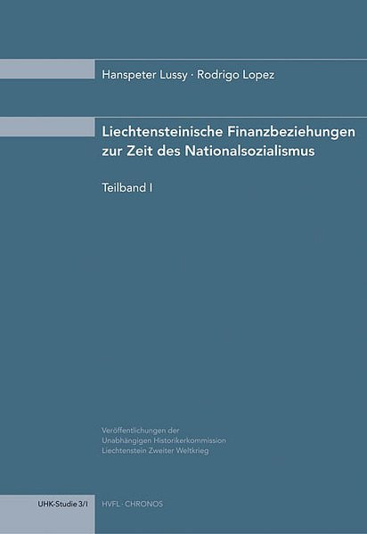 Finanzbeziehungen Liechtensteins zur Zeit des Nationalsozialismus