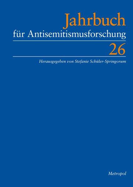 Jahrbuch für Antisemitismusforschung Bd 2617)