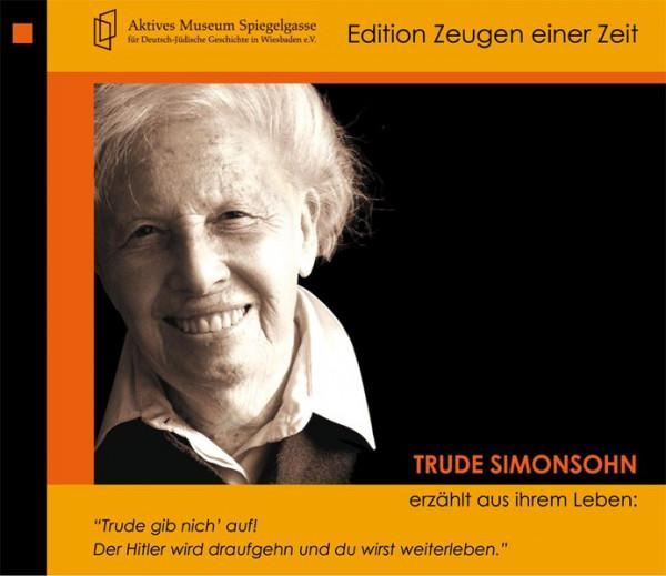 Trude Simonsohn erzählt aus ihrem Leben
