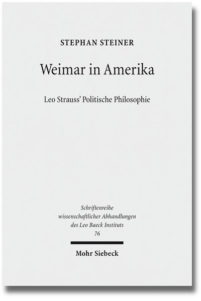 Weimar in Amerika