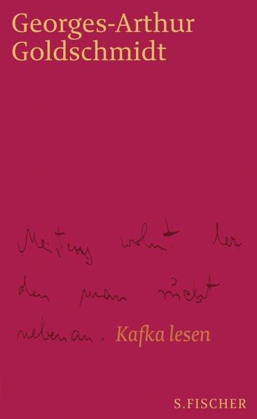 Meistens wohnt der den man sucht nebenan. Kafka lesen