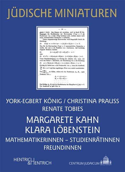 Margarete Kahn und Klara Löbenstein