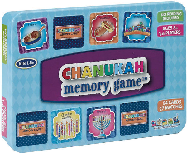 """Memory Game """"Chanukah"""" mit 72 Karten"""