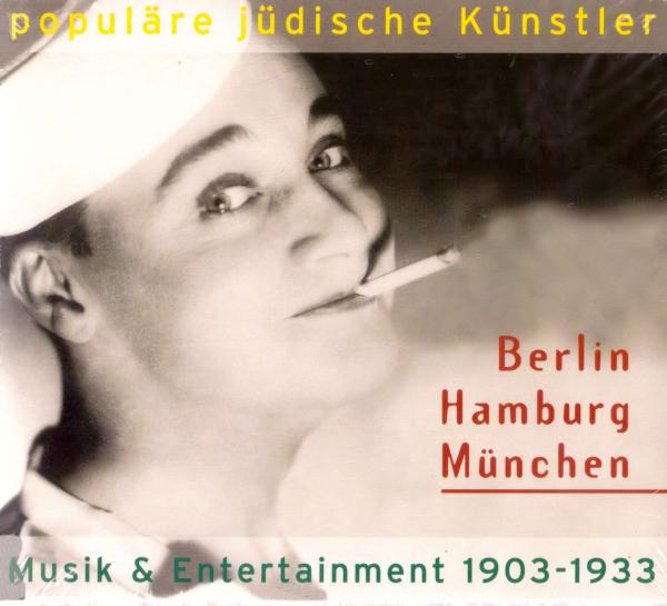 jüdische Künstler. Berlin - Hamburg - München 1903-1033