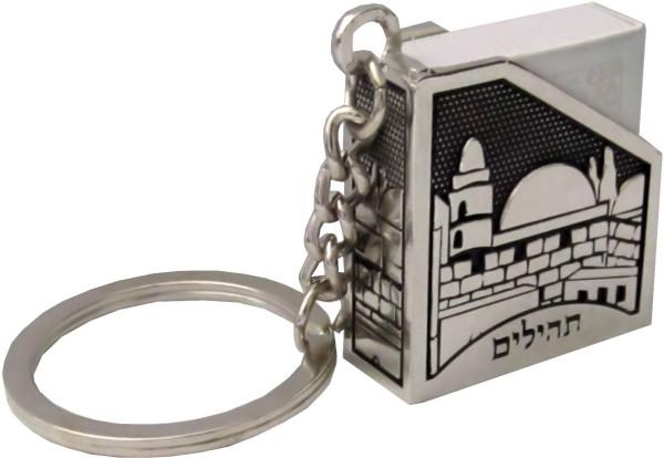 Schlüsselanhänger Tehillim, Jerusalem