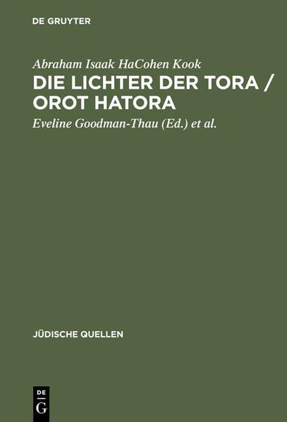 Die Lichter der Tora - Orot HaTora