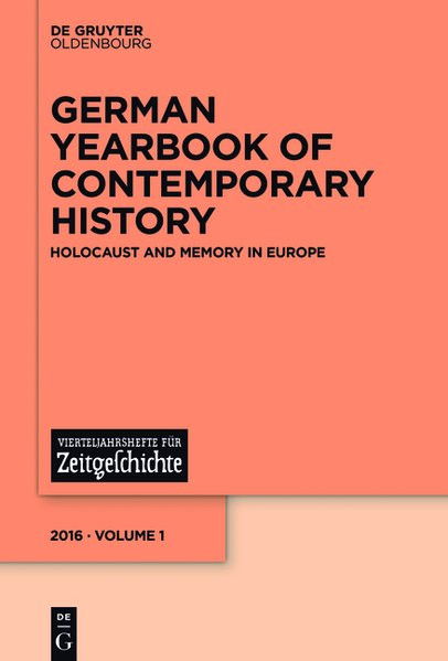 Holocaust and Memory in Europe