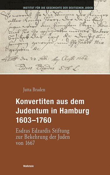 Konvertiten aus dem Judentum in Hamburg 1603-1760