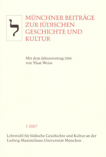 Jahresvortrag 2006 von Yfaat Weiss