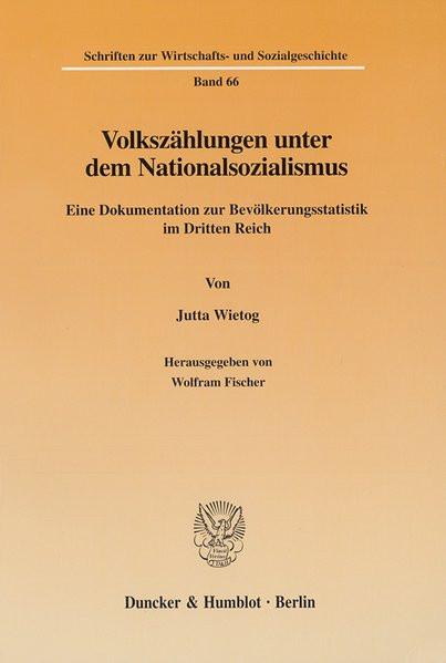 Volkszählungen unter dem Nationalsozialismus