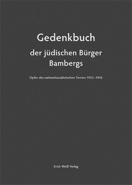 Gedenkbuch der jüdischen Bürger Bambergs