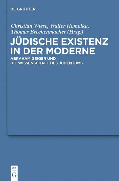 Jüdische Existenz in der Moderne