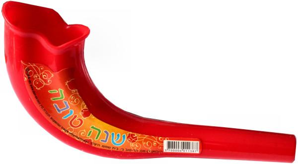 Schofar *bunt* aus Kunststoff in diversen Farben ca.16cm