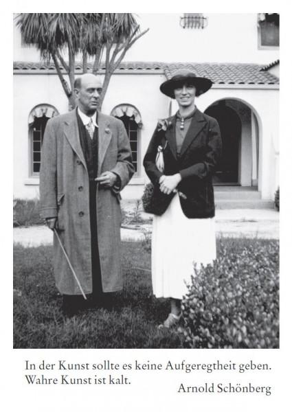 Arnold Schönberg (1874 Wien - 1951 Los Angeles)