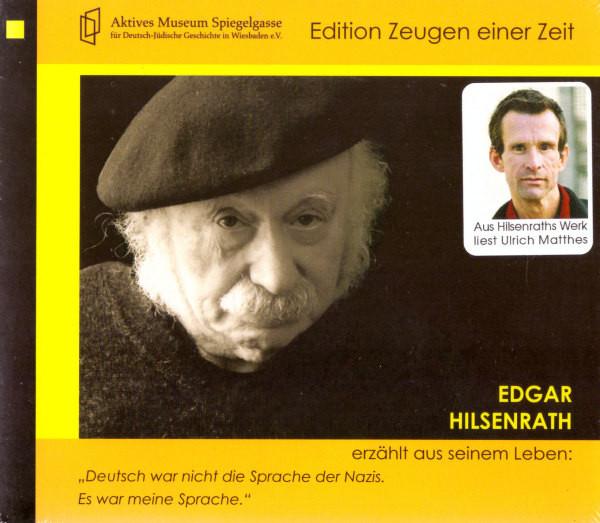 """Edgar Hilsenrath erzählt aus seinem Leben: """"Deutsch war nicht die Sprache der Nazis"""". Es war meine S"""