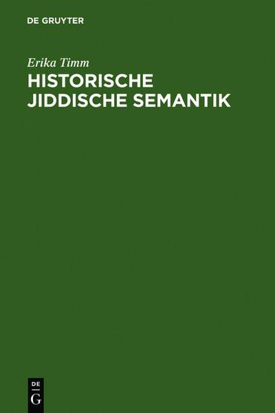 Historische jiddische Semantik