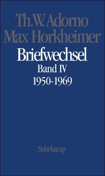 Briefwechsel 1950-1969 Bd.IV