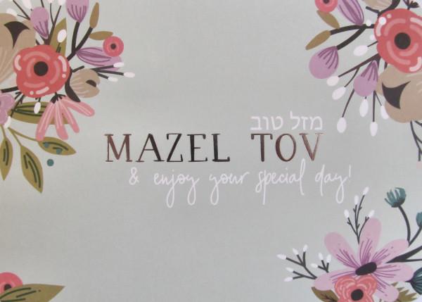 Mazel Tov & Enjoy Your Special Day!