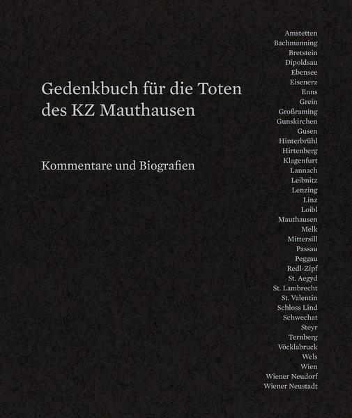 Gedenkbuch für die Toten des KZ Mauthausen