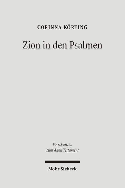 Zion in den Psalmen